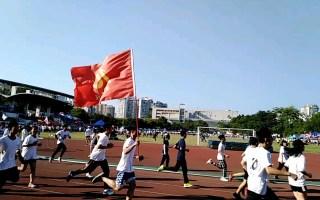 【柳州高中2018年秋季运动会】环操场跑步,放飞自我~