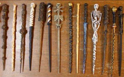 如何用筷子制作哈利波特的魔杖!how To Make Harry Potter Wands Diy Witch