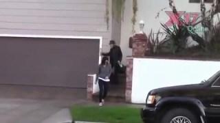 Kristen w- family in LA , Nov  29th, 2013