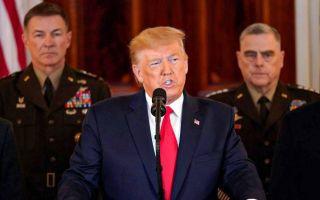 特朗普:永远不会允许伊朗拥有核武器!【中英双语字幕/白宫讲话全程】