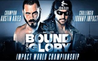 IMPACT Wrestling Bound For Glory.2018.10.15 Austin Aries vs. Johnny Impact
