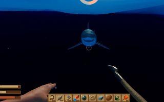 小函解说 木筏求生:用弓箭的都弱爆了,我直接用矛就能单杀鲨鱼