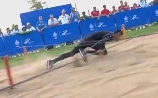 惊了!贴地飞行!中国选手潘玉程500米障碍跑破世界纪录