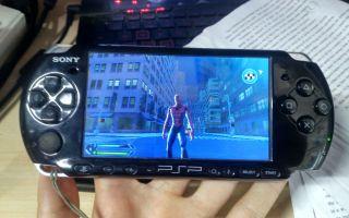 【怀旧】PSP版《蜘蛛侠3》实机运行效果如何???