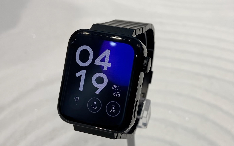 小米手表尊享版上手:安卓版Apple Watch?長著手表外觀的手機 ...