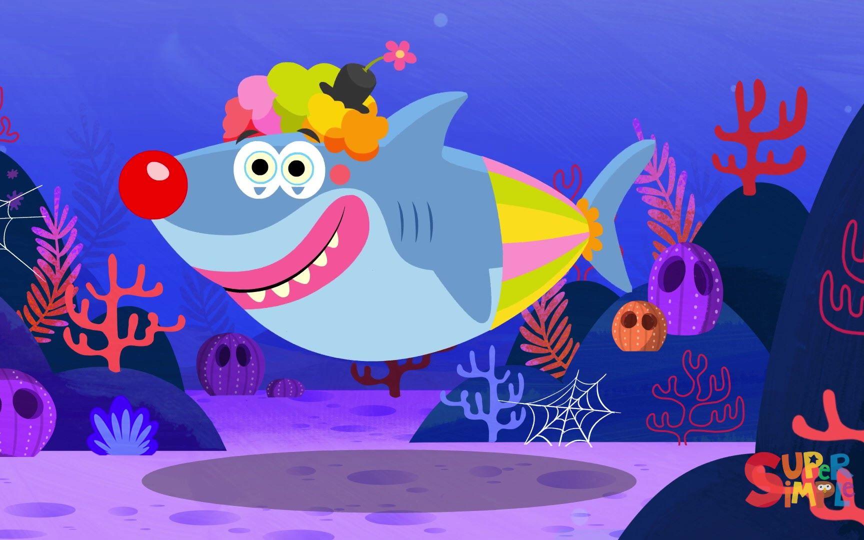 萬圣節鯊魚寶寶「Baby Shark Halloween」チビザメ ハロウィン こどものうた   Super Simple 日本語_嗶哩嗶哩 (゜-゜)つ ...