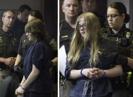 Anissa Weier (left) and Morgan Geyser appeared in court Monday. (Photo: Abe Van Dyke)