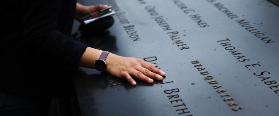 WORLD TRADE CENTER MEMORIAL HAND