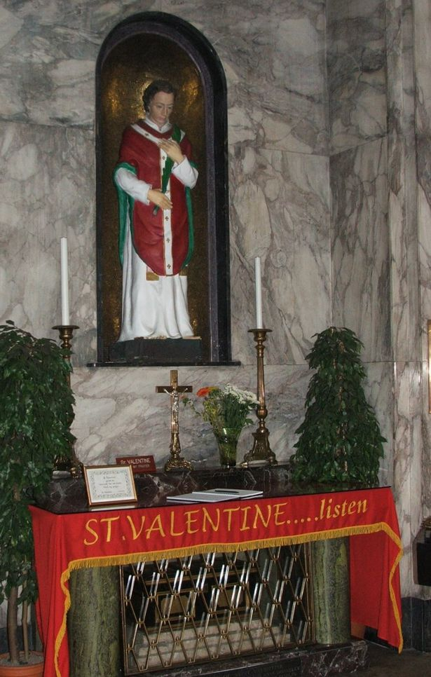 How Did Bits Of St Valentine End Up In A Dublin Shrine