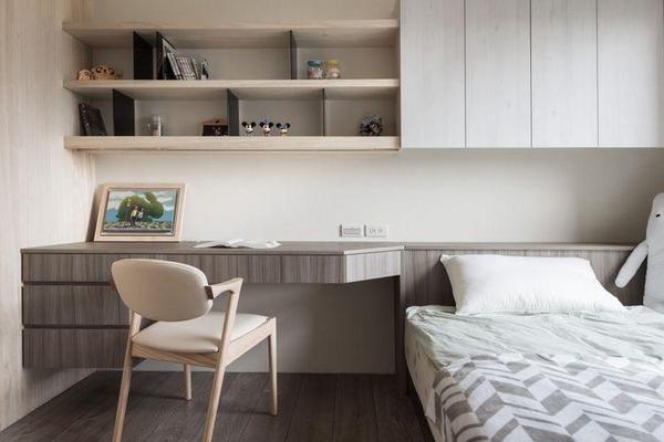 再小的房子我也可以任性的把書房和臥室合二為一 - 每日頭條