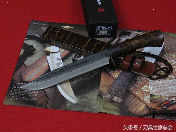 日本傳統手工刀 Kanetsune 關兼常KB-112 - 每日頭條