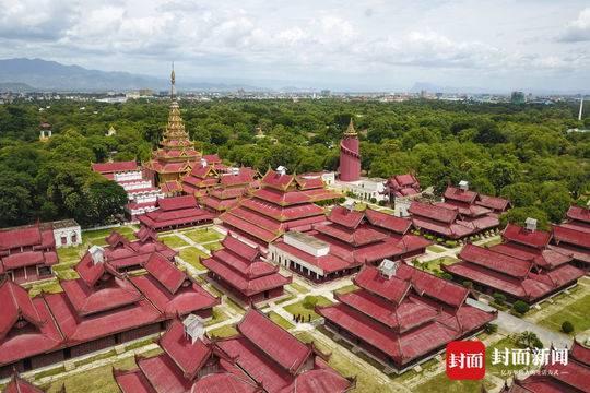鳥瞰緬甸曼德勒皇宮 叢林中的一片金碧輝煌 - 每日頭條