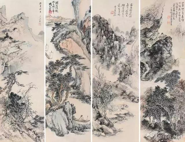 預展|「39期書畫精品」黃賓虹,吳鏡汀,周元亮,胡佩衡作品賞 - 每日頭條