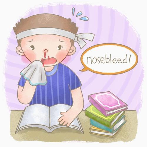 小兒鼻出血應怎樣急救 - 每日頭條