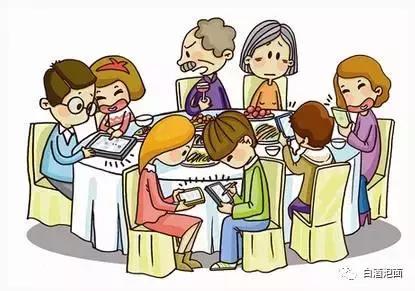 你不得不知道的餐桌禮儀-餐桌上玩手機是否不禮貌 - 每日頭條