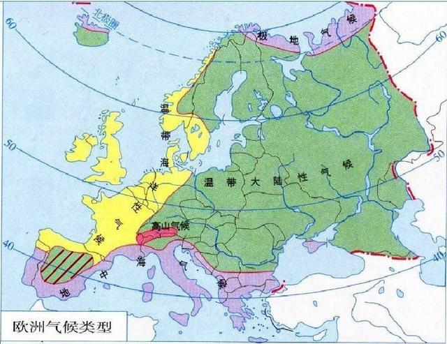 為什麼在歐洲西部的伊比利亞半島內部會出現「溫帶大陸性氣候」? - 每日頭條
