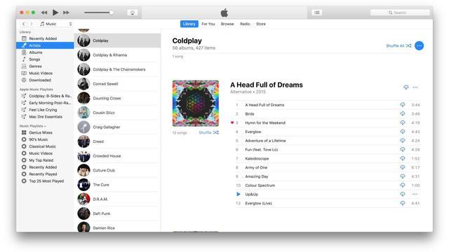 蘋果發布iTunes電腦版12.7更新:支持iOS11,Apple Music社交功能 - 每日頭條