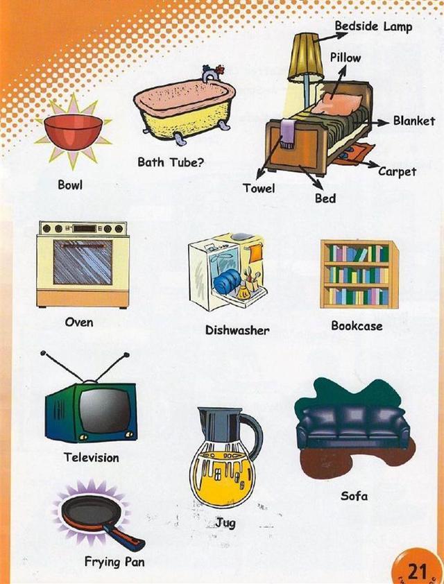 日常生活用品你知道用英語怎麼說嗎?現在圖文教你怎麼說! - 每日頭條