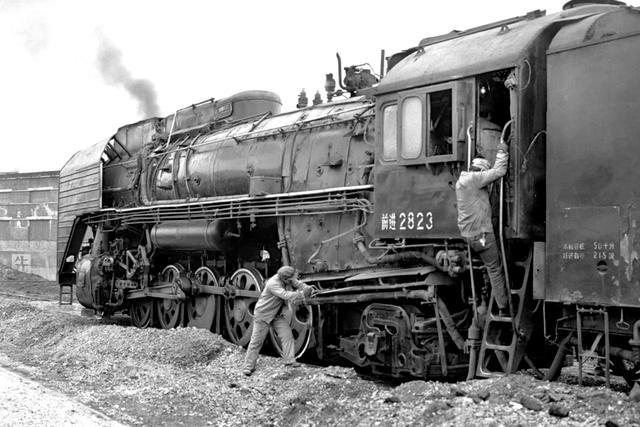 老照片:消逝的中國蒸汽機車 1997年 - 每日頭條