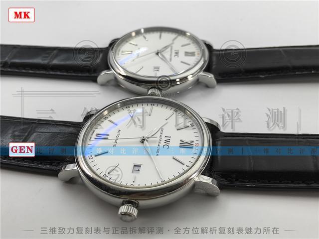 簡約經典萬國柏濤菲諾自動腕錶 MK廠與正品拆解評測 - 每日頭條