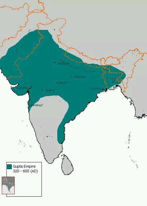 五張地圖看一下印度一千多年來的版圖變遷 - 每日頭條