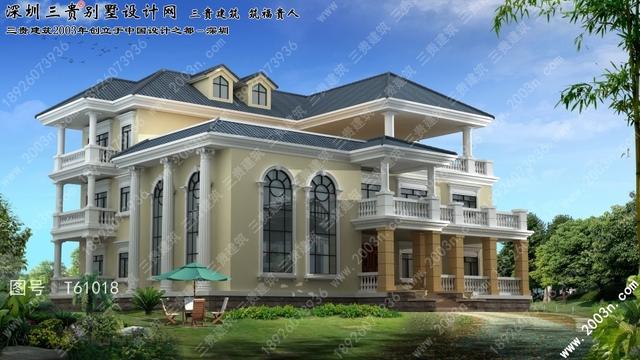 漂亮歐式別墅外觀設計 - 每日頭條