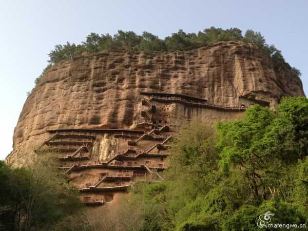 甘肅天水麥積山石窟---中國四大石窟之一 - 每日頭條
