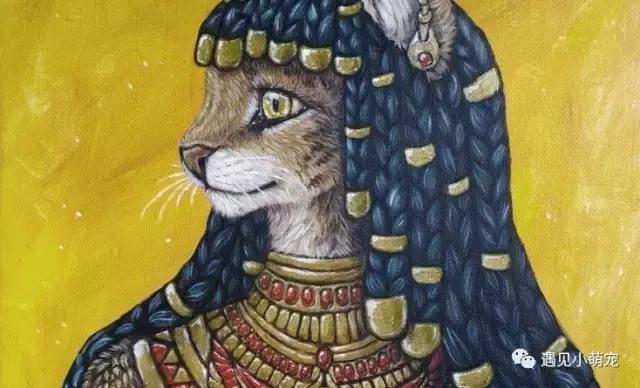 古埃及的貝斯特神:喵星人的黃金時代 - 每日頭條