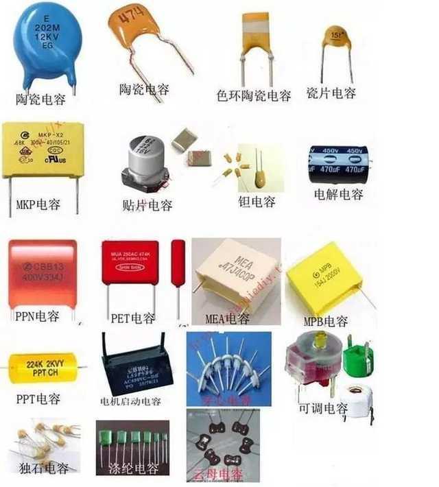 硬體電子電路中電容的分類及用途(電路設計必須了解的知識 ...