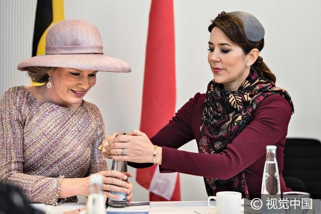 丹麥:比利時王后與丹王儲妃共同出席活動 同框比美優雅吸睛 - 每日頭條