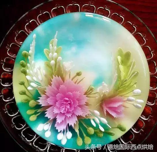 啫喱花丨晶瑩剔透3D果凍花的配方與步驟 - 每日頭條