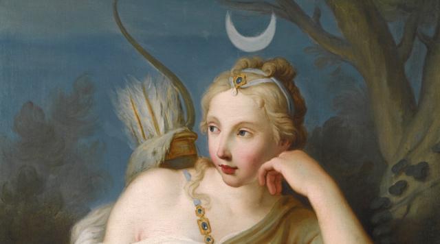 閒話美術史|宙斯的掌上明珠——月亮女神黛安娜 - 每日頭條