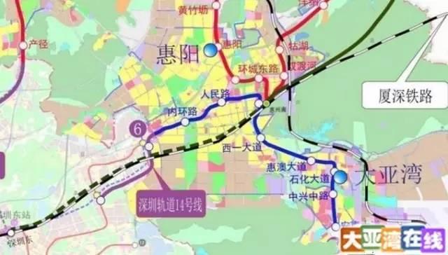 大亞灣價值騰飛在即!深圳地鐵規劃圖里暗藏玄機(圖) - 每日頭條