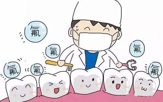 牙齒塗氟會導致氟斑牙嗎? - 每日頭條