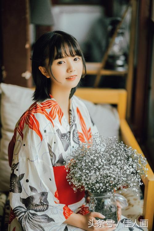 古典古裝日本和服風唯美攝影清純少女居家寫真 - 每日頭條