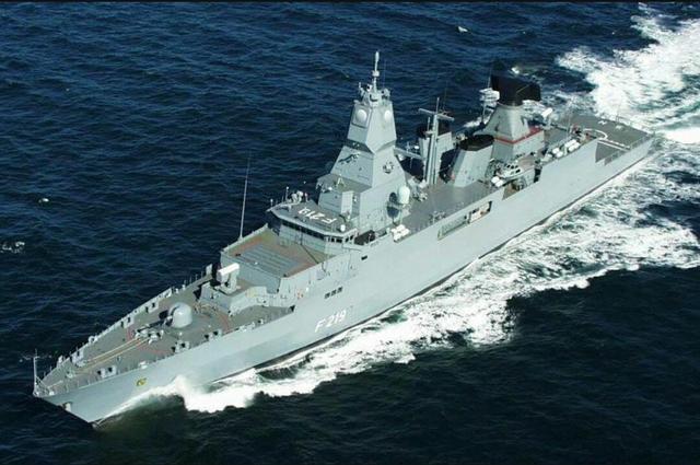 德國海軍第一艘採用模塊化設計的艦艇一薩克森級護衛艦 - 每日頭條