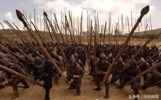 西班牙步兵方陣威震天下的戰術原來這麼簡單? - 每日頭條