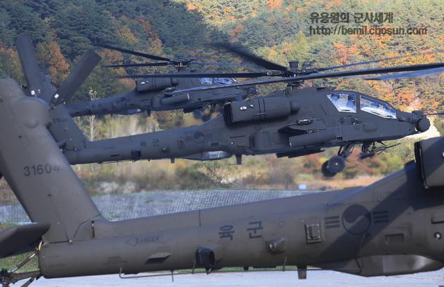 韓軍阿帕奇攻擊直升機群成軍 參加軍事大賽秀強悍戰力 - 每日頭條