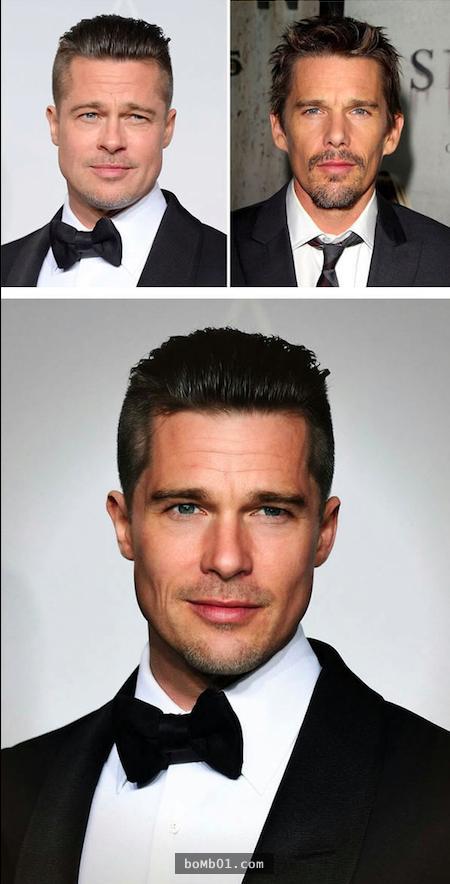 12張證明1+1大於2的好萊塢明星混臉照混合後的臉完美到挑不出毛病 - 每日頭條