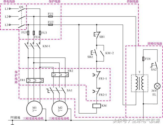工業電氣設備控制線路的主要部件和元器件 - 每日頭條