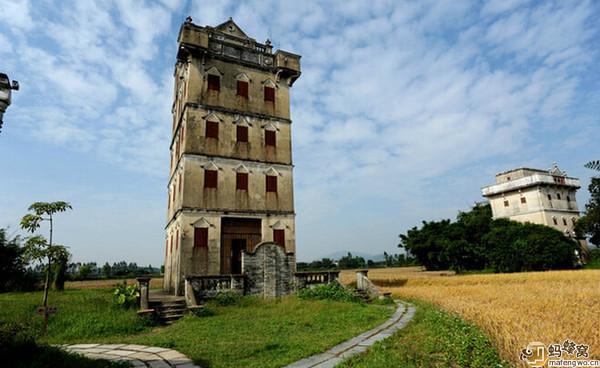 中國最美的民居建築——開平碉樓 - 每日頭條