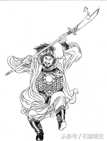三國東吳十大名將白描圖:僅有一人可與張遼相比 - 每日頭條