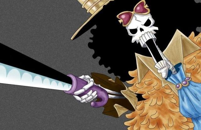 《海賊王》曾經也是有名劍士的劍俠鼻歌!現在變成靈魂之王! - 每日頭條