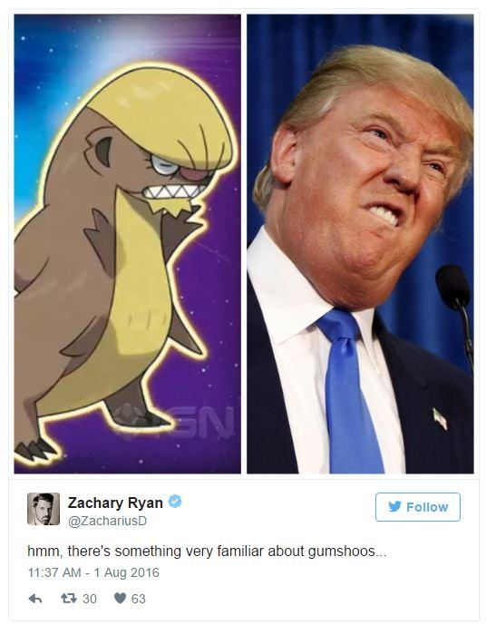 Image result for yungoos trump