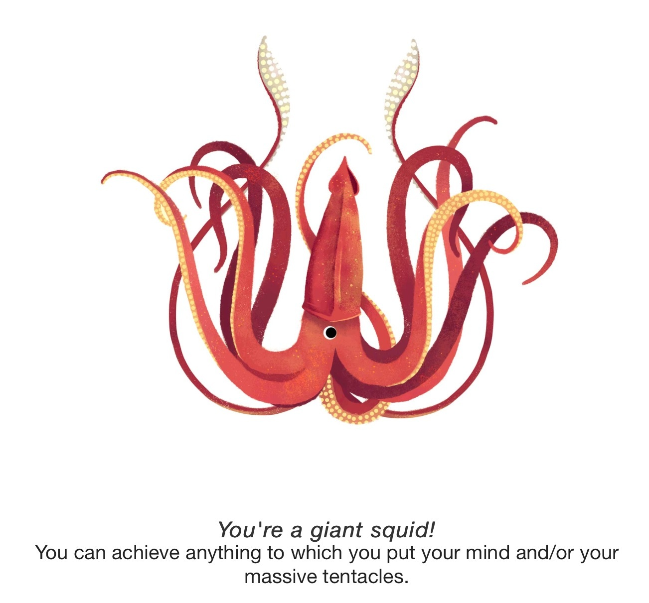 You Re A Giant Squid Quiz