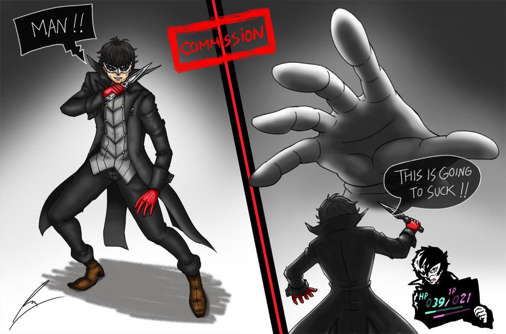 Persona 5 X Super Smash Bros P5 Joker Vs Master Hand