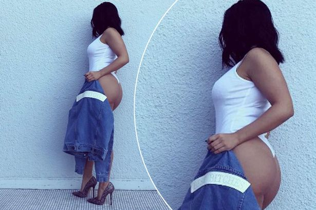 Ariel Winter flashes curvy rear in tiny thong leotard in latest sizzling social media snap