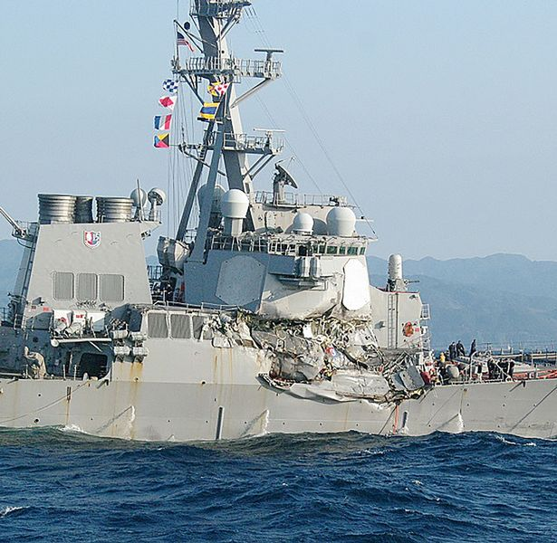 Image result for uss fitzgerald