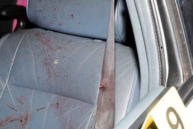 Shocking pictures of Philando Castile's blood-spattered car after police blasted him to death