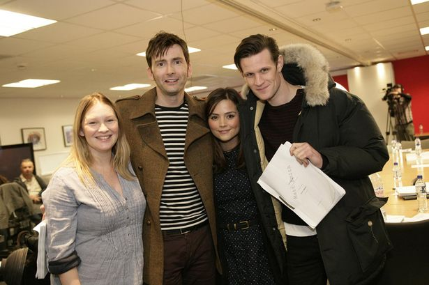 David Tennant- Matt Smith-BBC